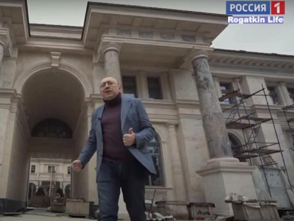 «Россия 1» покажет сюжет о «дворце Путина», который назвали гостиницей
