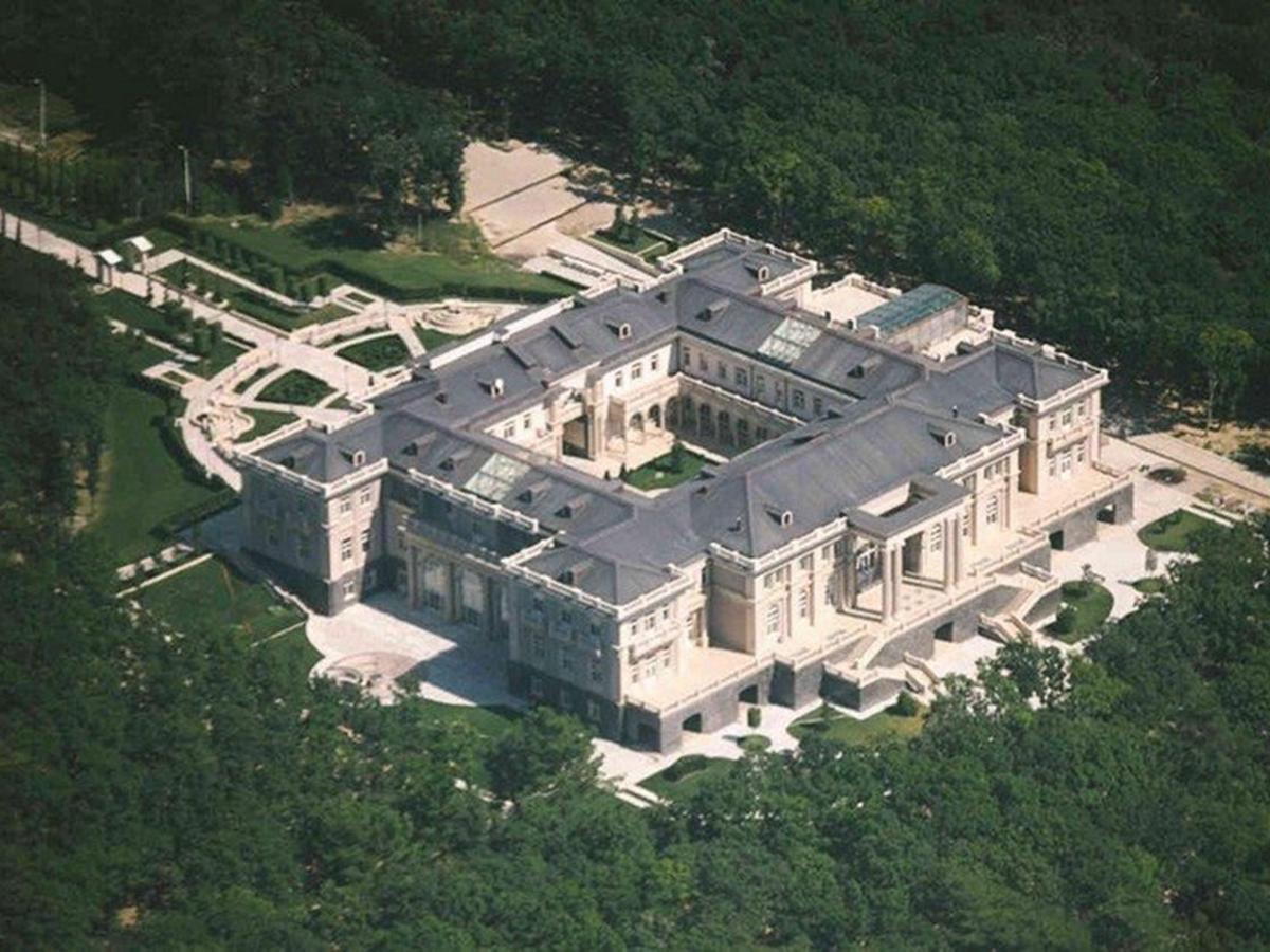 Дворец Путина под Геленджиком
