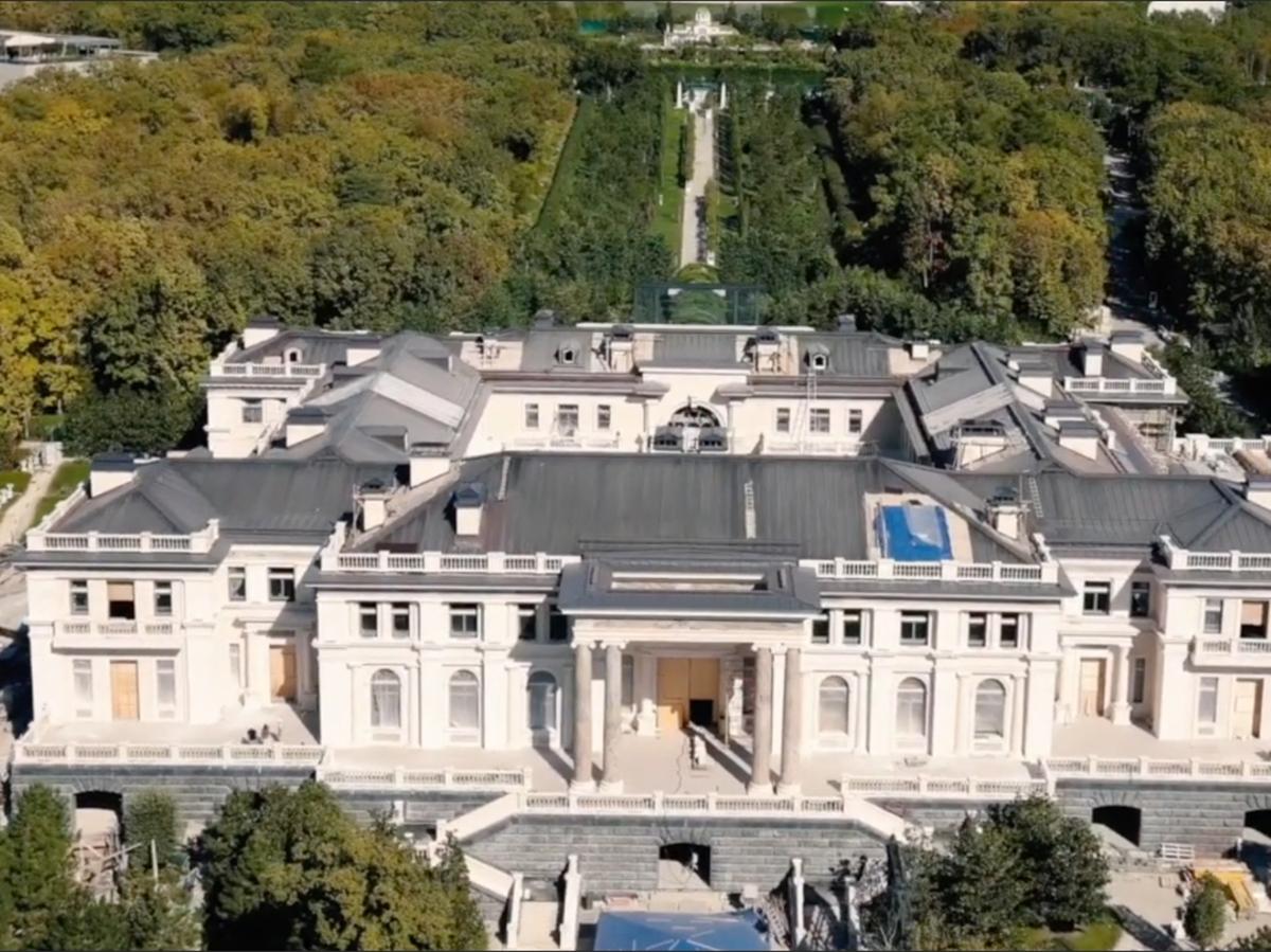 Дворец Путина