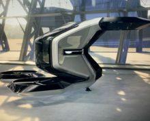 Летающий кадиллак представили на выставке CES 2021