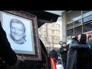 Похороны Бориса Грачевского