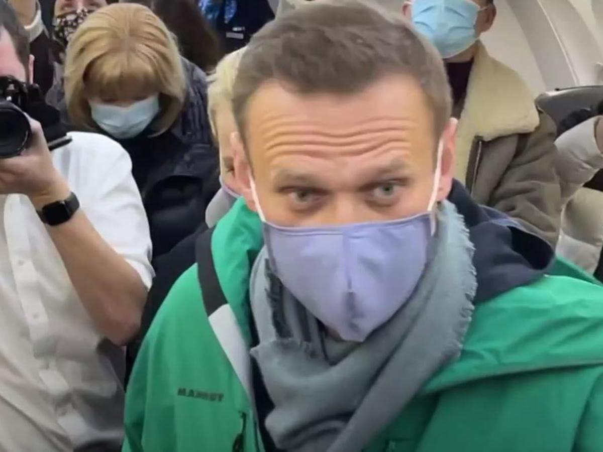Инстаграм Навальный