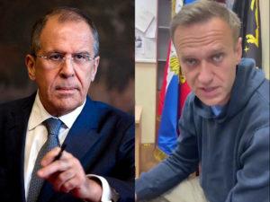 Сергей Лавров Алексей Навальный