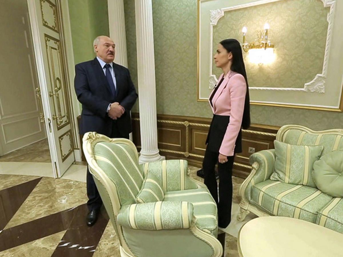 Лукашенко с Аскер-Заде