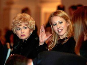 СМИ: мать Ксении Собчак незаконно получила пенсию на 730 тысяч рублей