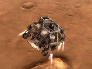NASA анонсировала приземление Perseverance на Марс