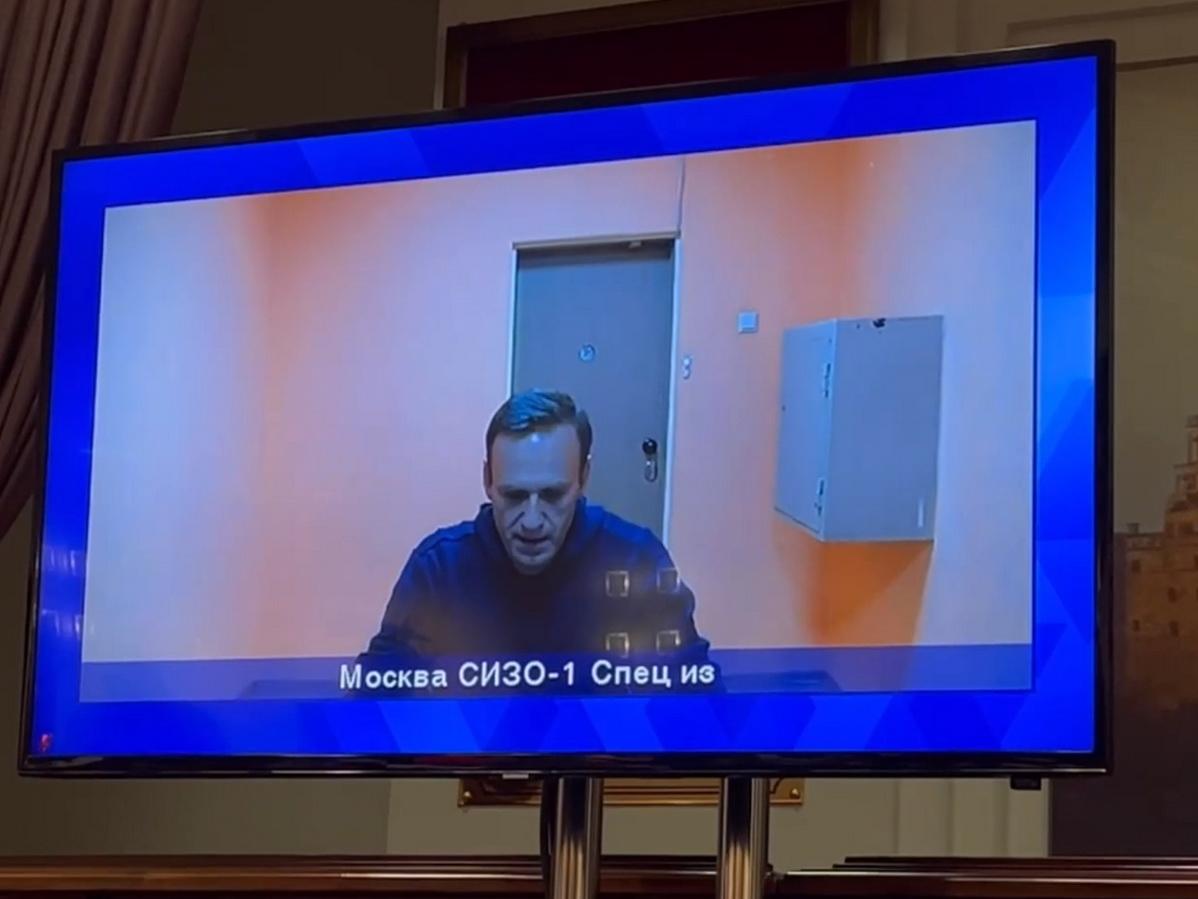 Речь Навального в суде