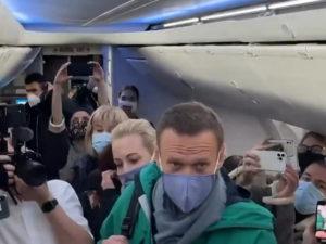 Возвращение Навального в Москву