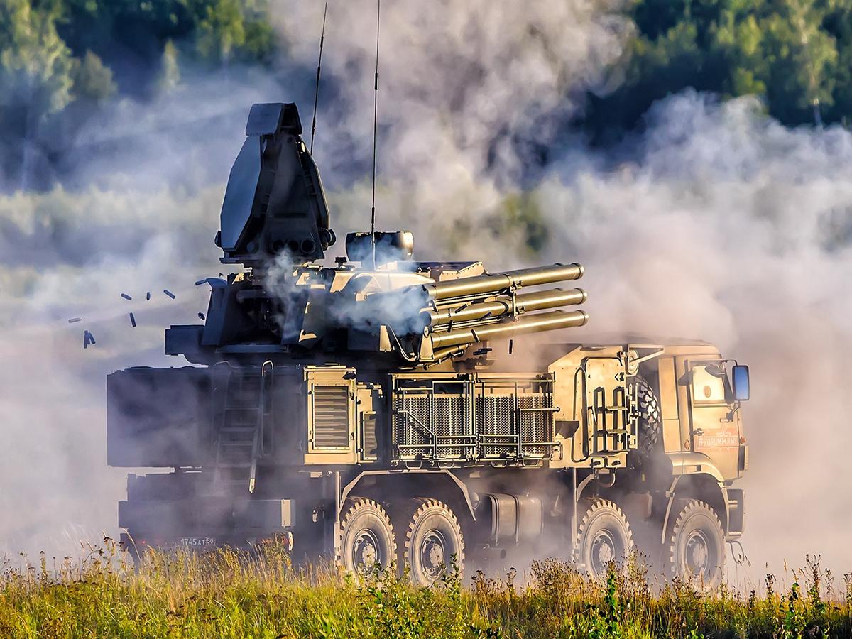 США похитили вЛивии русский  «Панцирь-С1»— Times
