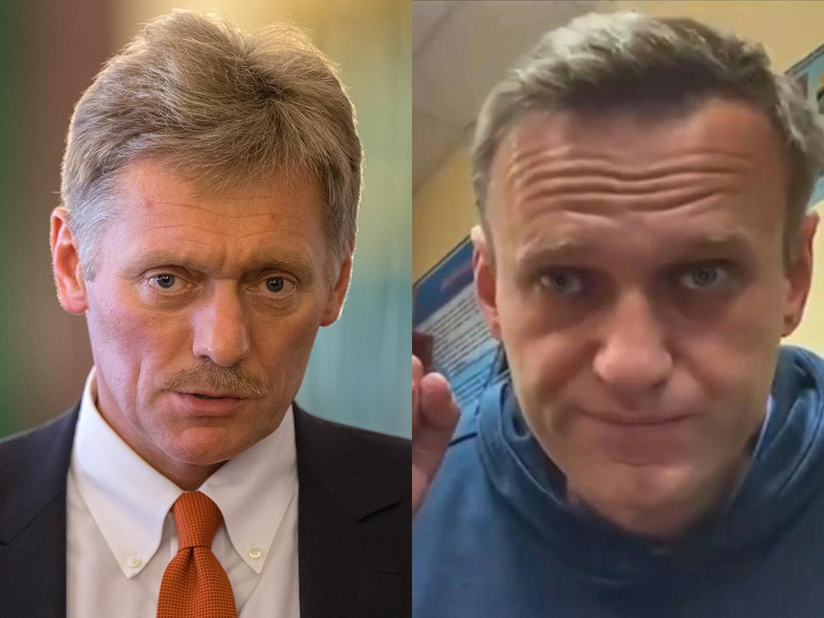 Песков прокомментировал задержание Навального