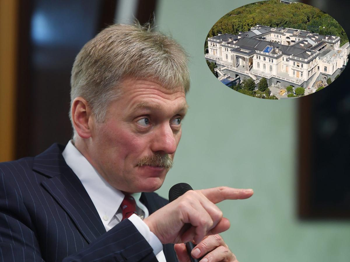 Песков высказался о дворце Путина в Геленджике