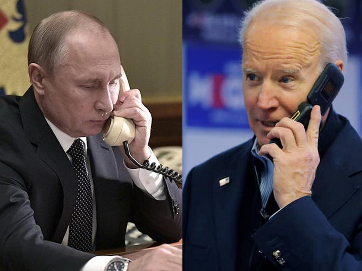 Путин поговорил с Байденом