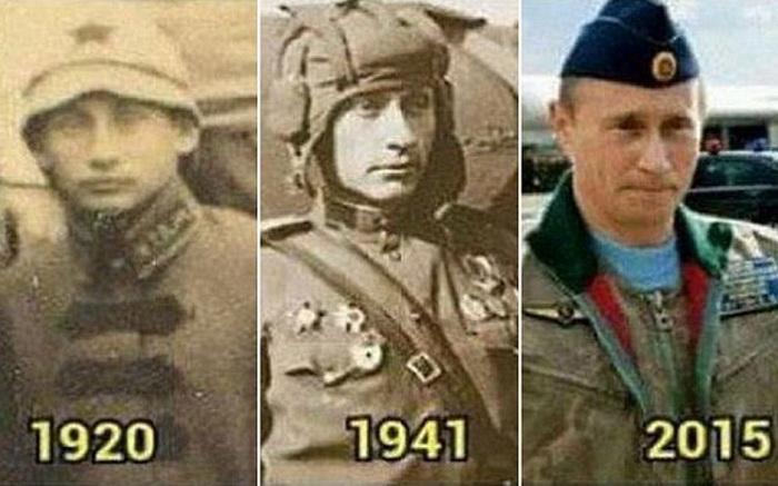 Двойники Путина