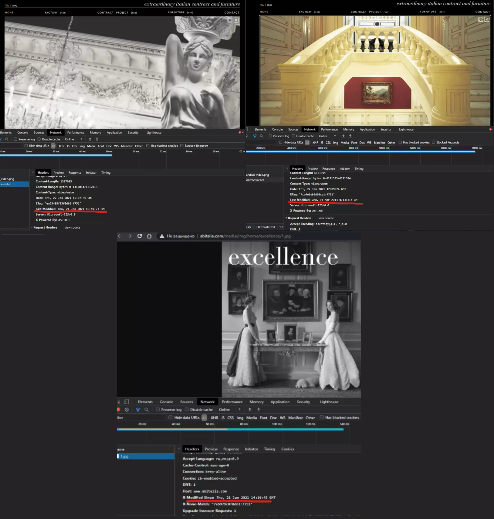 Итальянская мебельная фабрика ABItalia удалила с сайта фото интерьера «дворца Путина»