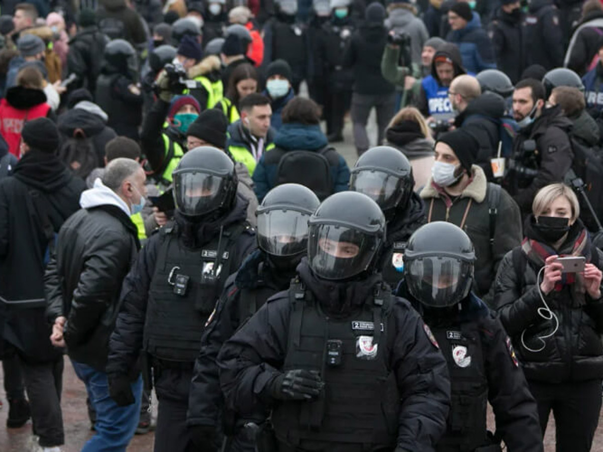 СКР возбудил 21 уголовное дело после незаконных акций 23 января