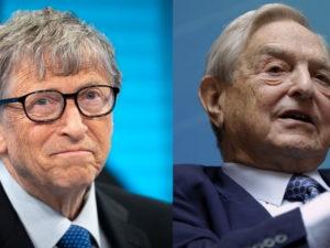 Джордж Сорос и Билл Гейтс