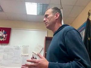 Суд арестовал Навального на 2 месяца