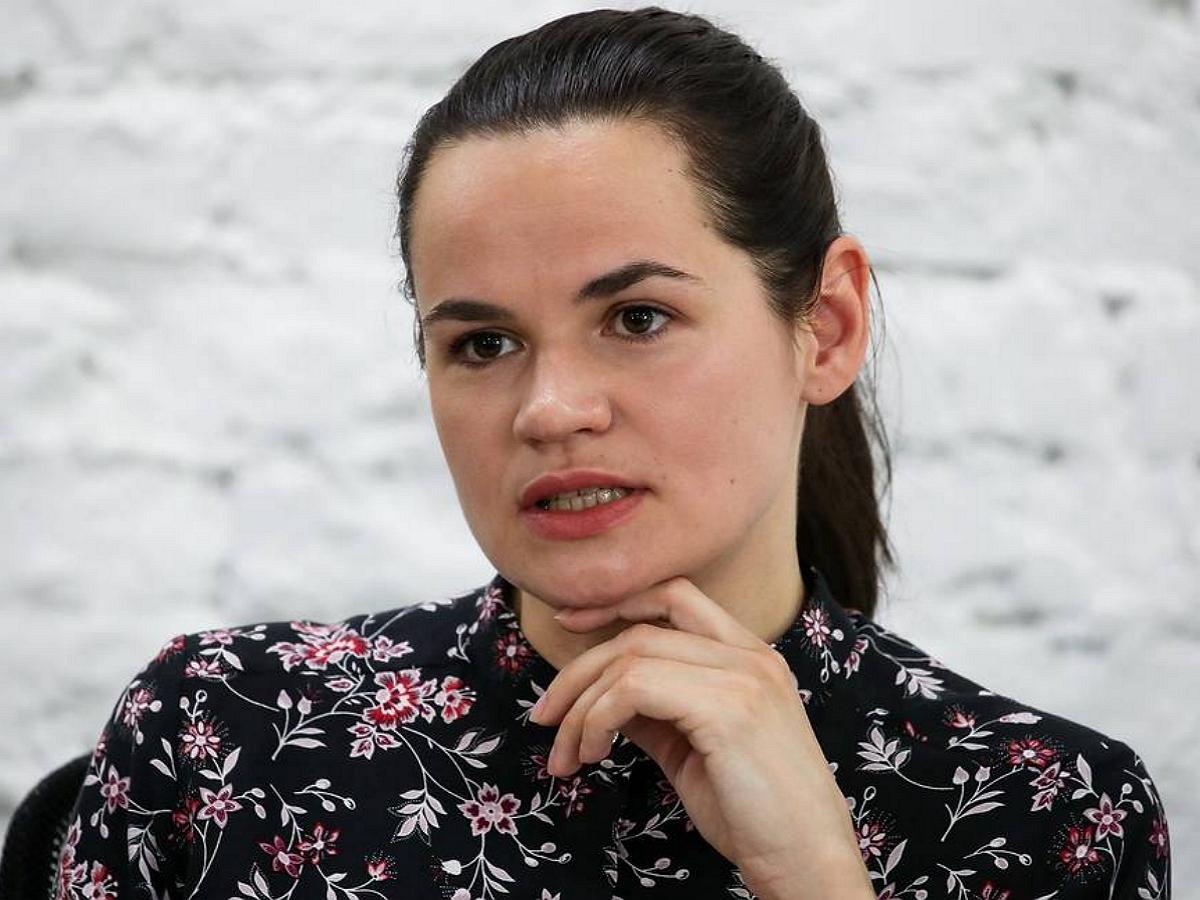 Светлана Тихановская предложила Литве изменить название Белоруссии