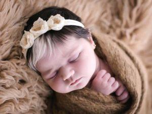 В Бразилии родилась девочка с седыми волосами