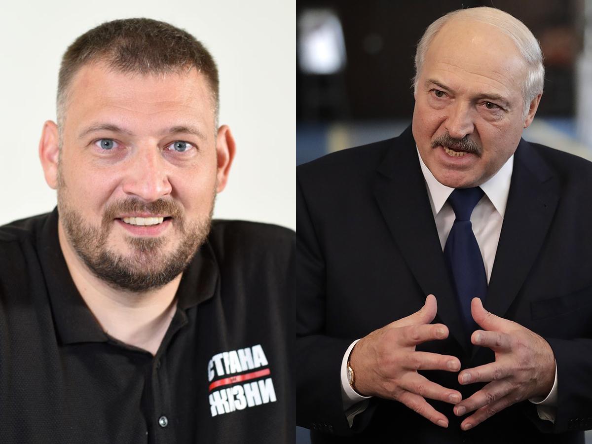 Тихановский Лукашенко
