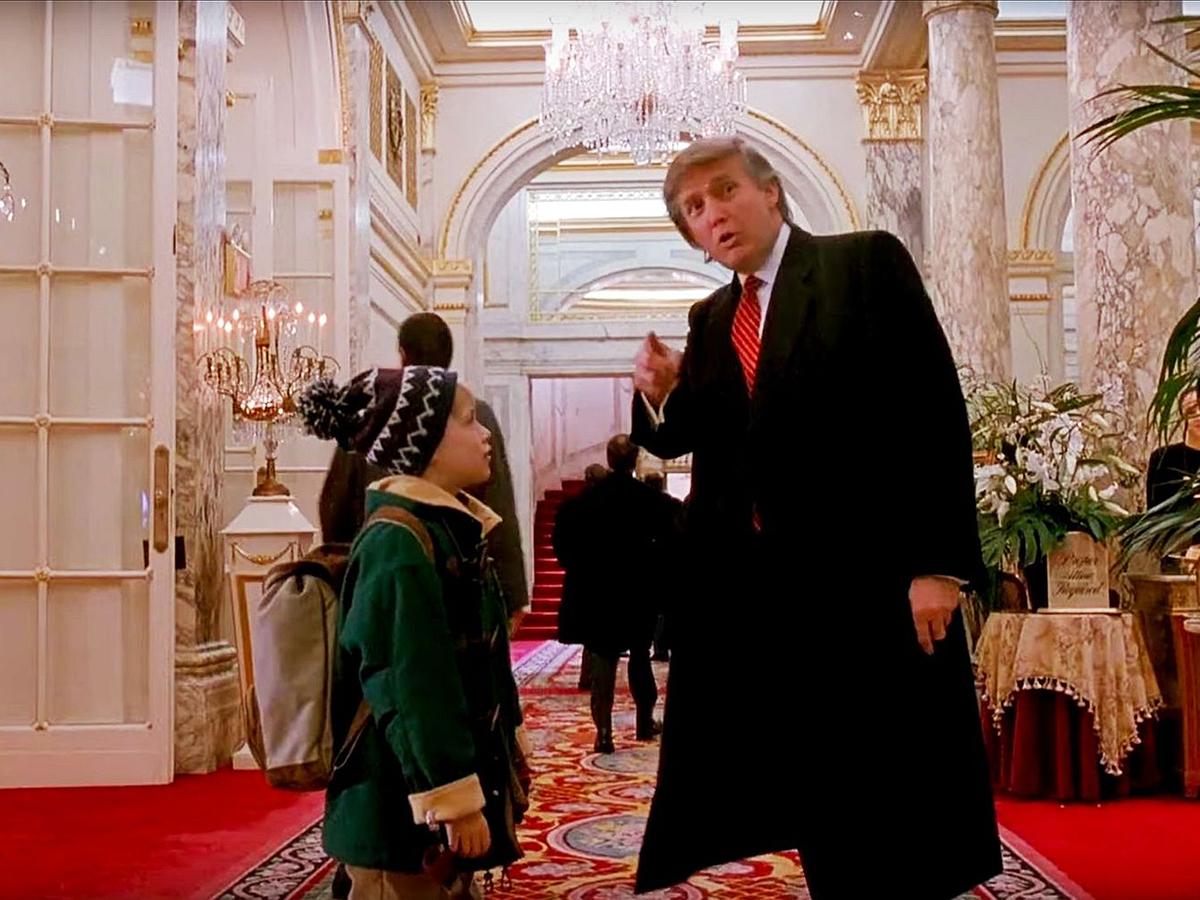 Трамп Один дома
