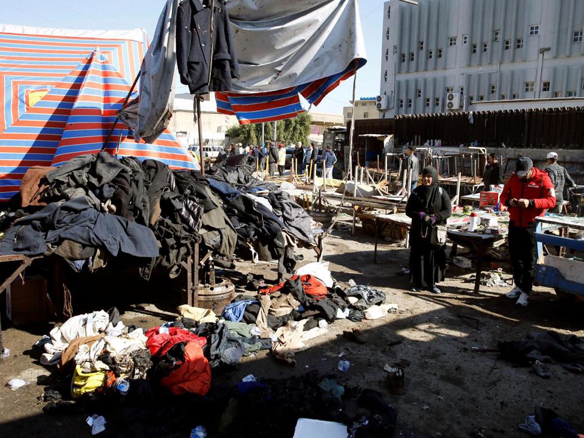 В Багдаде смертники подорвали рынок, 20 человек погибли