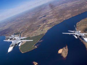 В Черном море ВВС США преодолели российскую ПВО