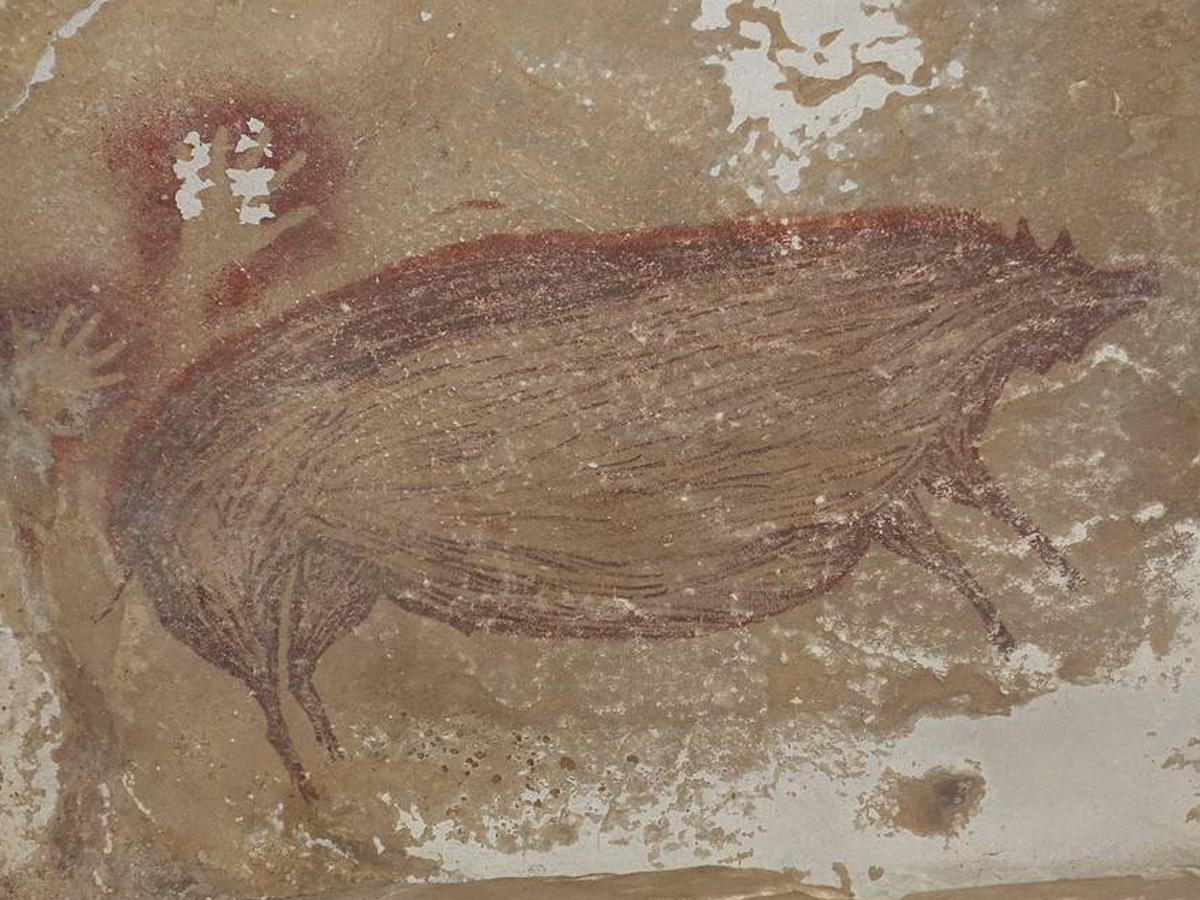 В Индонезии найден старейший наскальный рисунок в мире
