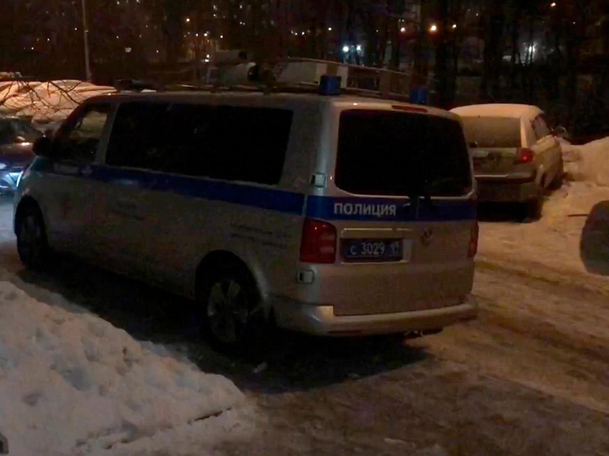 В Москве застрелили мужчину, напавшего на полицию с ножом