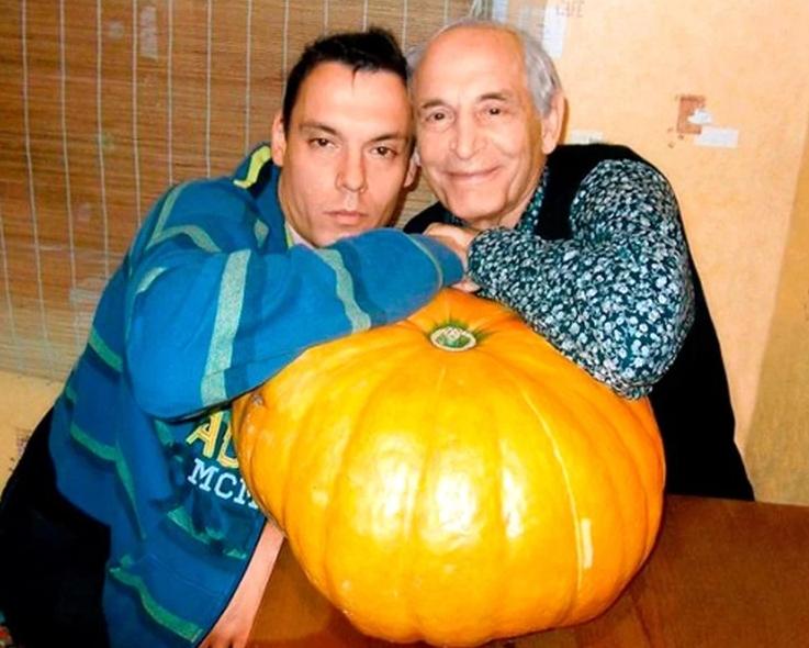 Василий Лановой с младшим сыном Сергеем