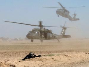 Американские вертолеты в Сирии