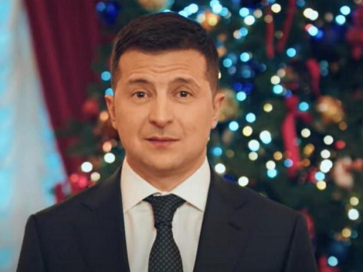 Зеленский в новогоднем поздравлении призвал Крым и Донбасс «Быть с Украиной»