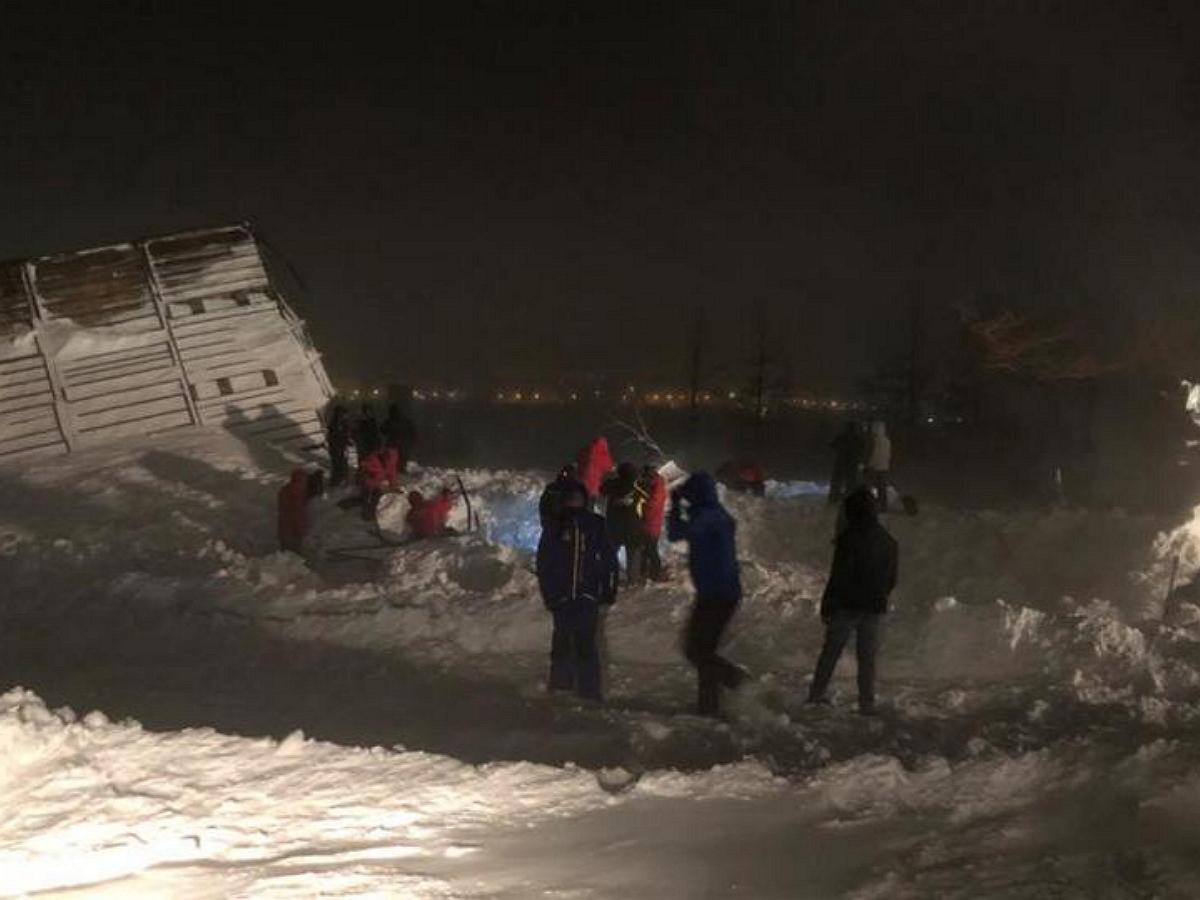 Жертвами схода лавины в Норильске стали три человека