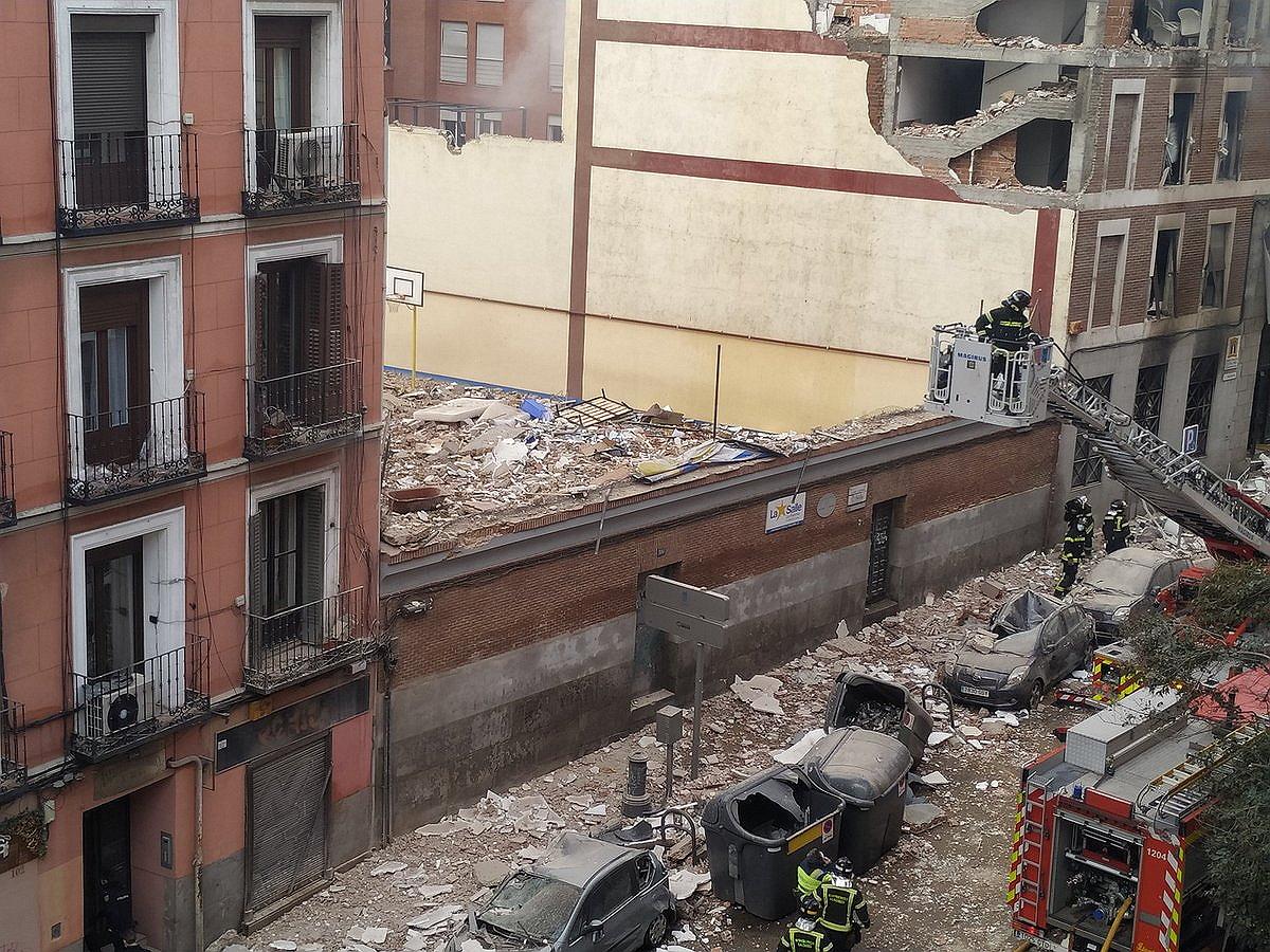 В Мадриде прогремел взрыв, не менее двух человек погибли