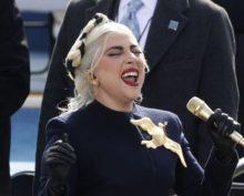 Исполнение гимна США в исполнении Леди Гага собрало более 550 тыс. просмотров
