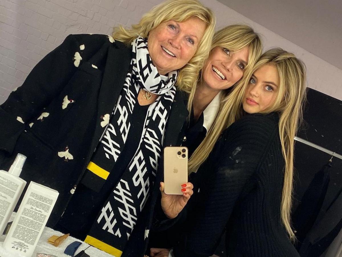 Юная дочь Хайди Клум открыла Неделю моды