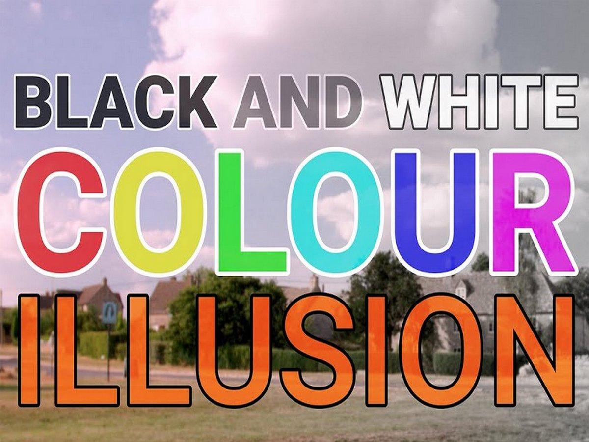В Сети набирает популярность оптическая иллюзия, превращающая черно-белое фото в цветное