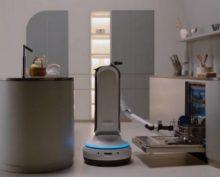 Samsung презентовала робота для уборки и домашних питомцев
