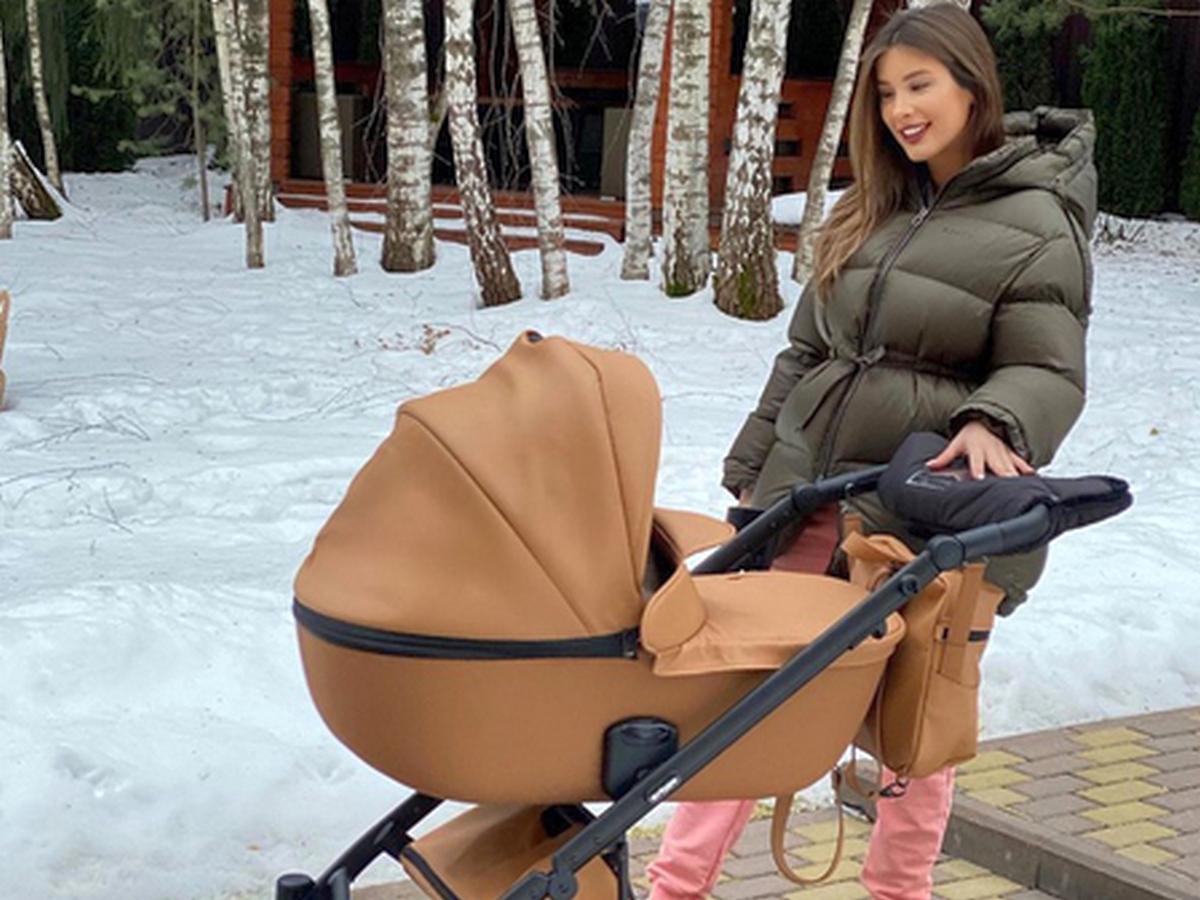 Видео Кэти Топурии с новорожденным сыном собрало 250 тыс. лайков