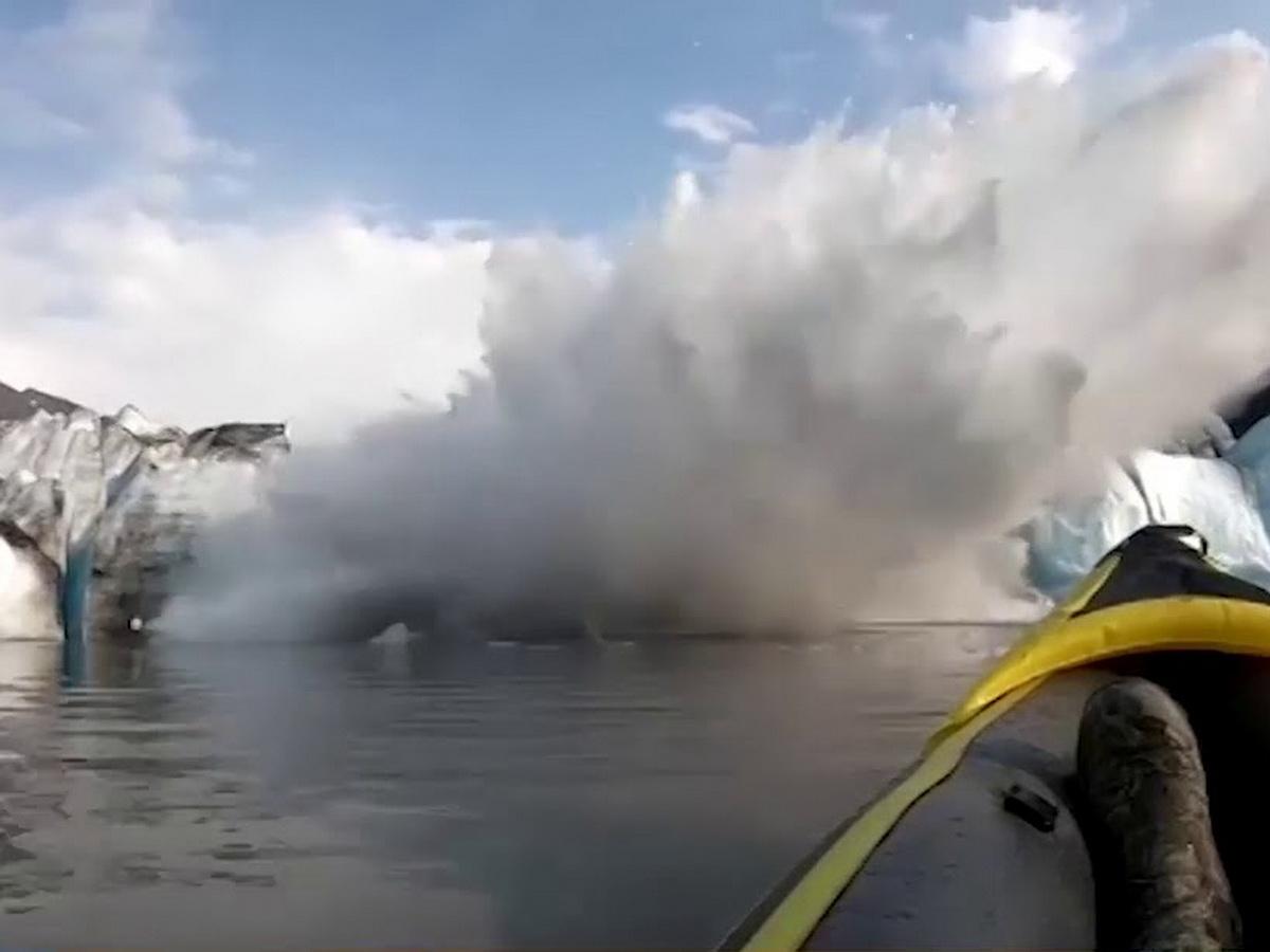Волна в Гренландии