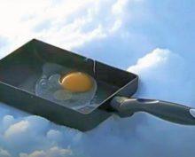 Рецепт приготовления яичницы на снегу собрал 28 тыс. просмотров за три дня