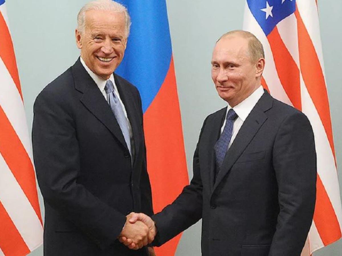 Названы условия встречи Путина и Байдена