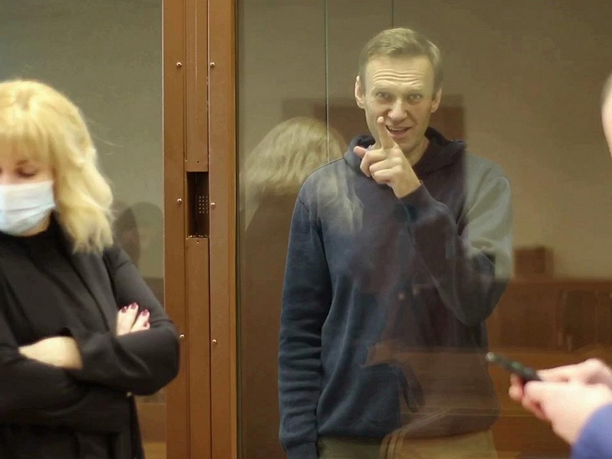 Навального поставили на учет в СИЗО как склонного к побегу
