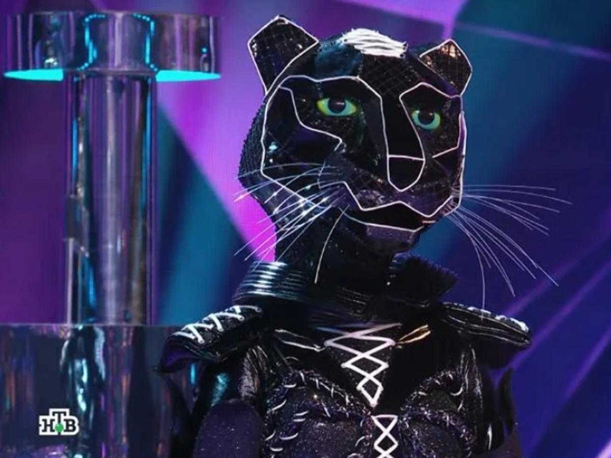 Черная пантера шоу Маска