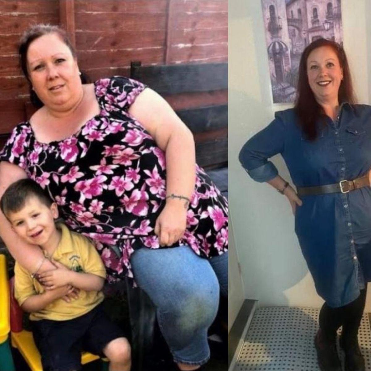 45-летняя женщина похудела за 2 года на 60 килограммов
