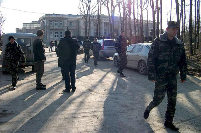 ФСО дворец Путина