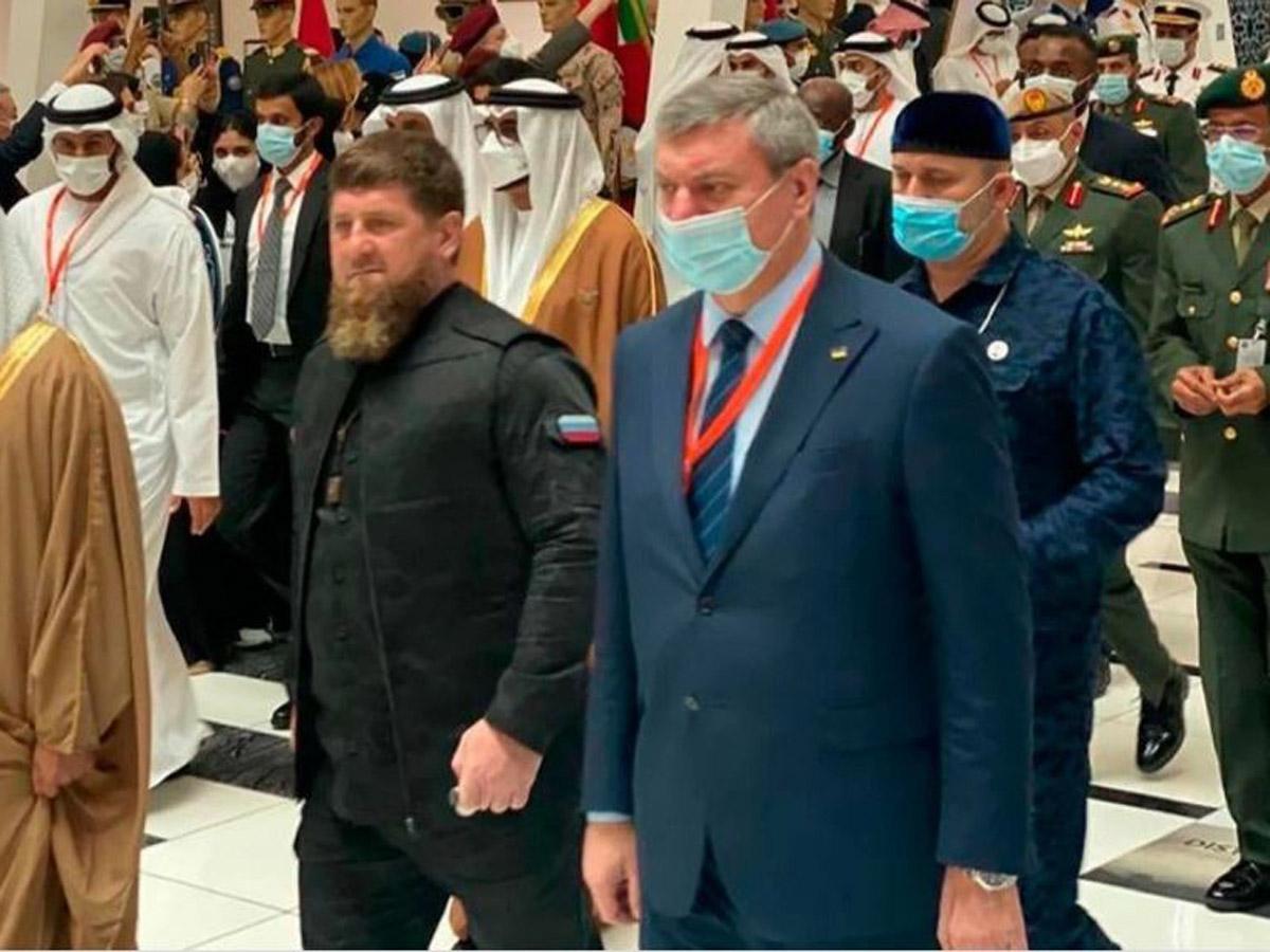 Кадыров сделал заявление о скандальном фото с украинцем Уруском