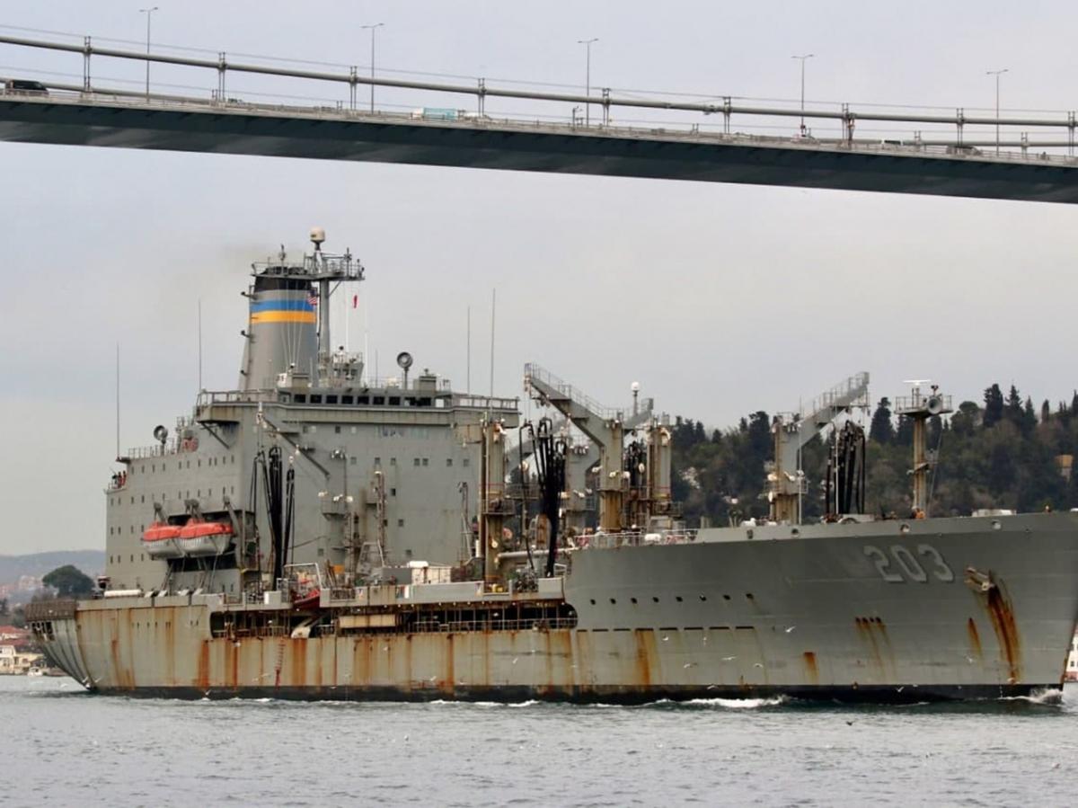 Заржавевший корабль США