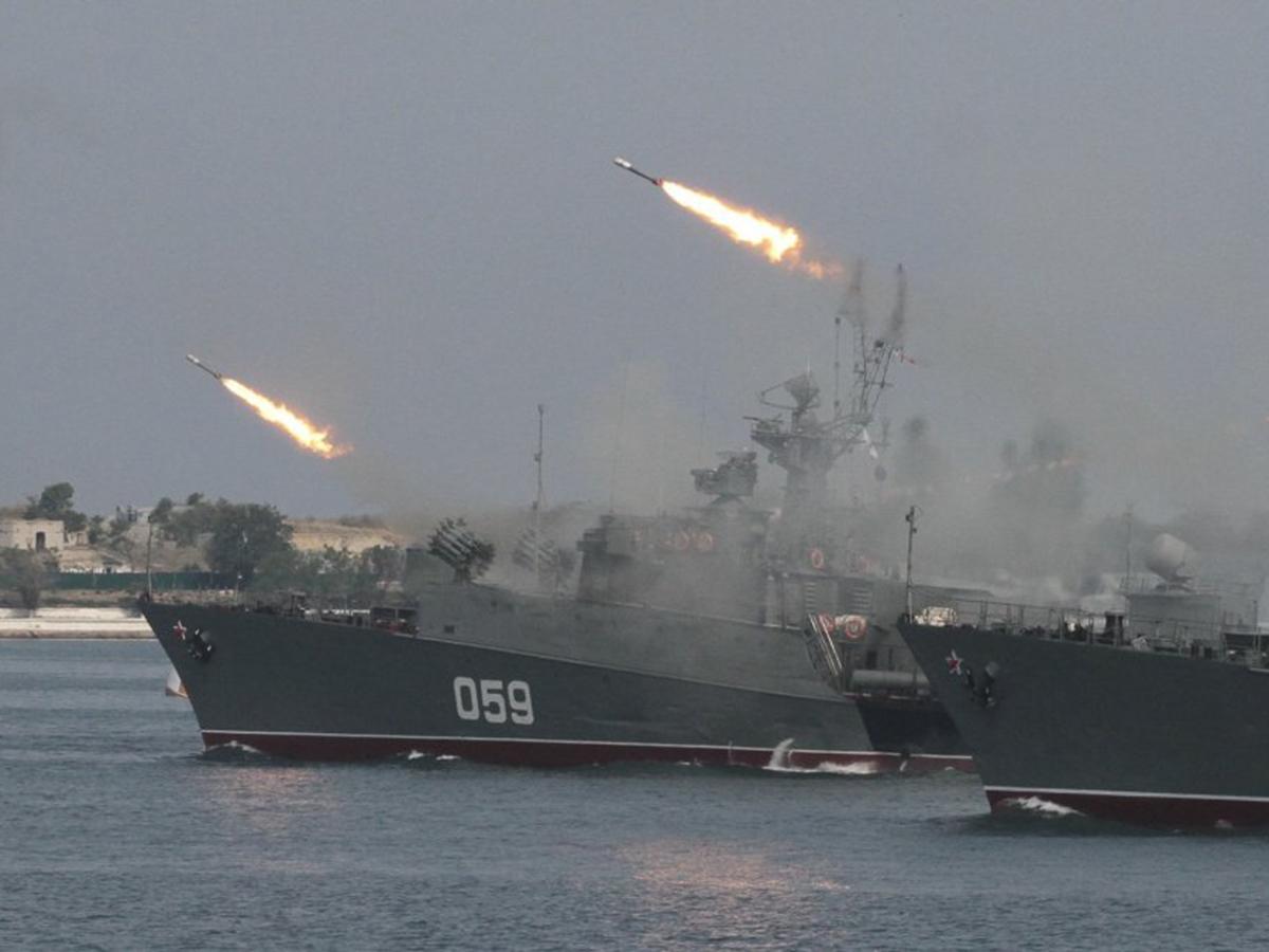 Военные корабли ВМФ РФ