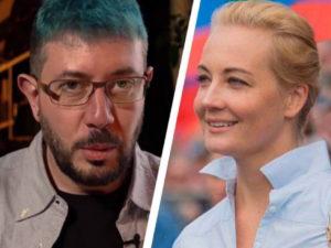 Навальная жестко ответила извинившемуся перед ней Лебедеву